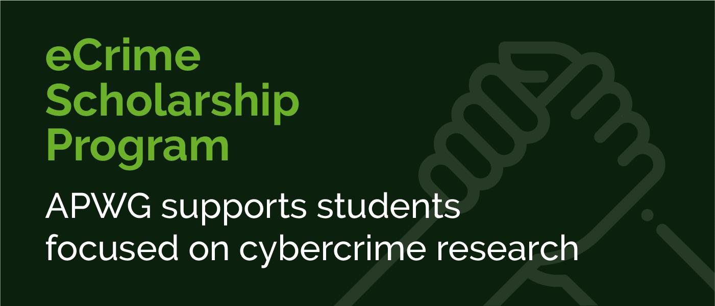 eCrime Research Scholarship Program